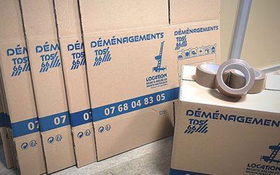Quel types de cartons utiliser pour mon déménagement (2021) ?